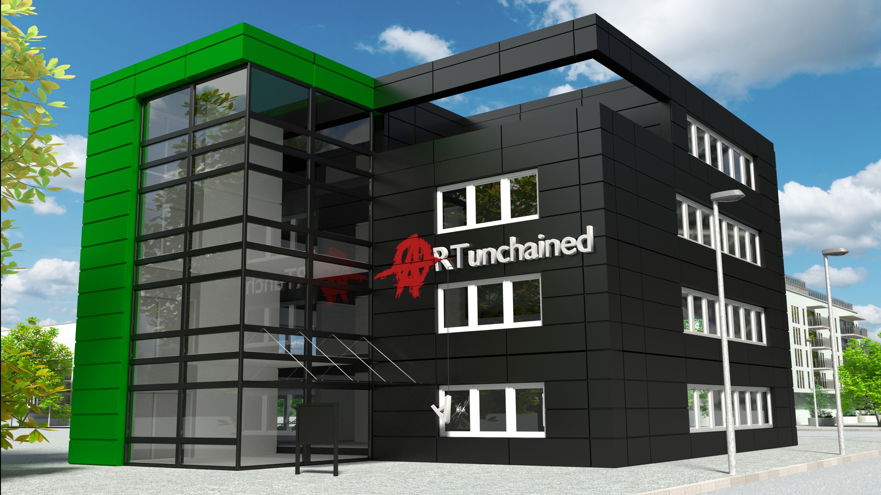 3D Rendering Artunchained Archviz & Webdesign Central