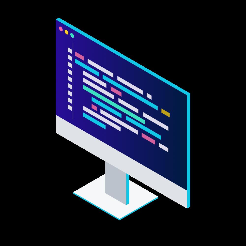 Bildschirm in der Sektion AWS Serveless App Programmierung